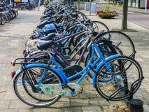 Roweru parking Zdjęcia Stock
