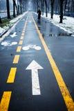 roweru pas ruchu Fotografia Royalty Free