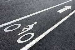 roweru pas ruchu usa Obrazy Royalty Free