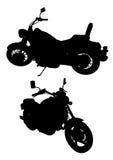 roweru silnik dwa Zdjęcia Royalty Free