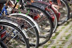 roweru stojak Fotografia Royalty Free