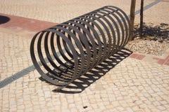 Roweru stojak Fotografia Stock