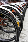 roweru target1288_1_ niektóre miastowi Fotografia Stock
