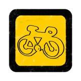 roweru znak Zdjęcia Royalty Free