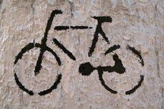 roweru znak Obrazy Stock