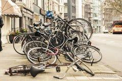 ROWERY, AMSTERDAM Zdjęcie Stock