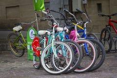 Rowery dla czynszu Obraz Royalty Free