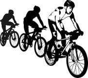 rowerzyści Zdjęcie Royalty Free
