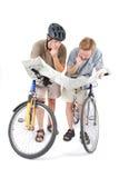 rowerzyści Obrazy Stock
