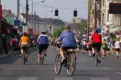 rowerzyści Zdjęcie Stock