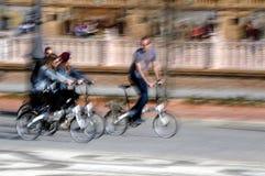Rowerzyści w ruchu w ruchu 77 Fotografia Stock