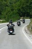 Rowerzystów motocykli/lów siekacza przejażdżka Obraz Royalty Free