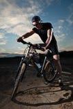 rowerzysta Zdjęcia Royalty Free