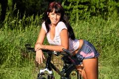 rowerzysta fotografia stock