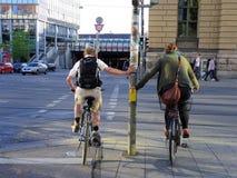 rowerzysta miastowy Fotografia Royalty Free