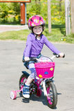 rowerzysta trochę Obraz Royalty Free