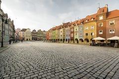 Rowhouses at Poznan Royalty Free Stock Photos