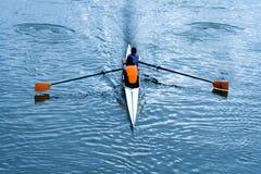 rowing дня солнечный Стоковые Фото