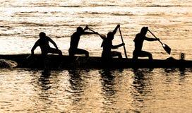 rowing славы Стоковая Фотография RF