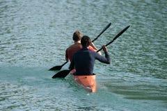 rowing сработанности Стоковое Изображение