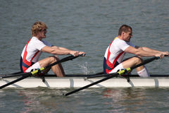 Rowing Royalty Free Stock Photos