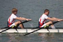 rowing Стоковые Фотографии RF