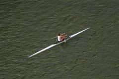 Rowing fotografía de archivo