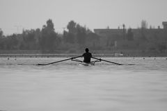 rowing stock fotografie