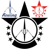 rowing Fotos de archivo libres de regalías