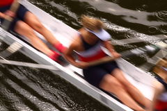 Rowing abstract B Royalty Free Stock Images
