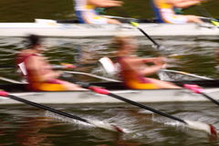 Rowing abstract A Royalty Free Stock Photography