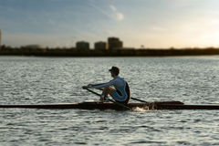 Free Rowing Alone Stock Images - 114984