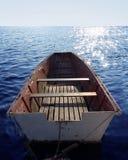 Rowing-barco fotografía de archivo libre de regalías