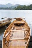 Rowing Boat; Derwent Water; Keswick; Lake District, England Royalty Free Stock Photo