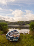 Rowing boat, Grasmere, Lake District Stock Image