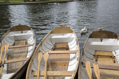 Rowing Boat on River, Stratford Upon Avon Royalty Free Stock Images