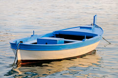 Old wooden rowboat Royalty Free Stock Image
