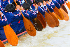Rowing boat team Royalty Free Stock Photo