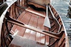 Rowing boat Stock Image