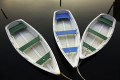 Rowing boats Royalty Free Stock Photo