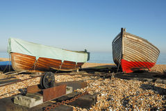 Rowing boats Stock Photography