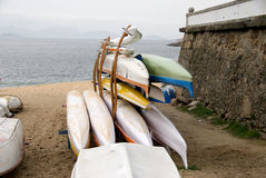 Rowing boats in Stock Photography