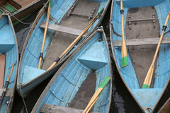 Rowing Boats for Hire, Oxford Stock Photography
