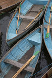Rowing Boats for Hire, Oxford Stock Photo