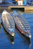 Rowing Boats Royalty Free Stock Photos