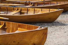Rowing boats in Titisee Neustadt Royalty Free Stock Photo