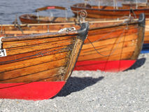 Rowing Boats Royalty Free Stock Photos