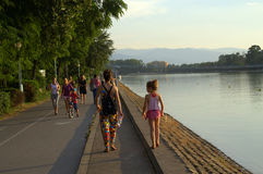 Plovdiv rowing channel Royalty Free Stock Image