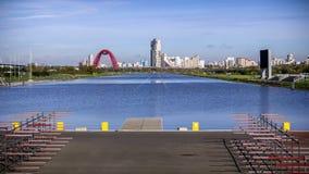 The rowing channel in Krylatskoye Royalty Free Stock Photos