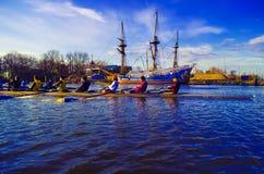 Rowing Stock Image